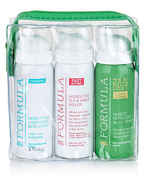 Insect Repellant Travel Pack 150ml