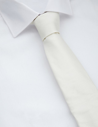 Pure Silk Wedding Tie with Handkerchief Clothing