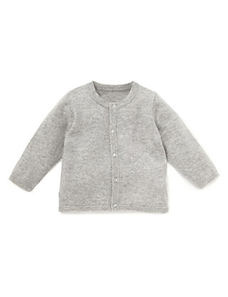 Pure Cashmere Crew Neck Cardigan Clothing