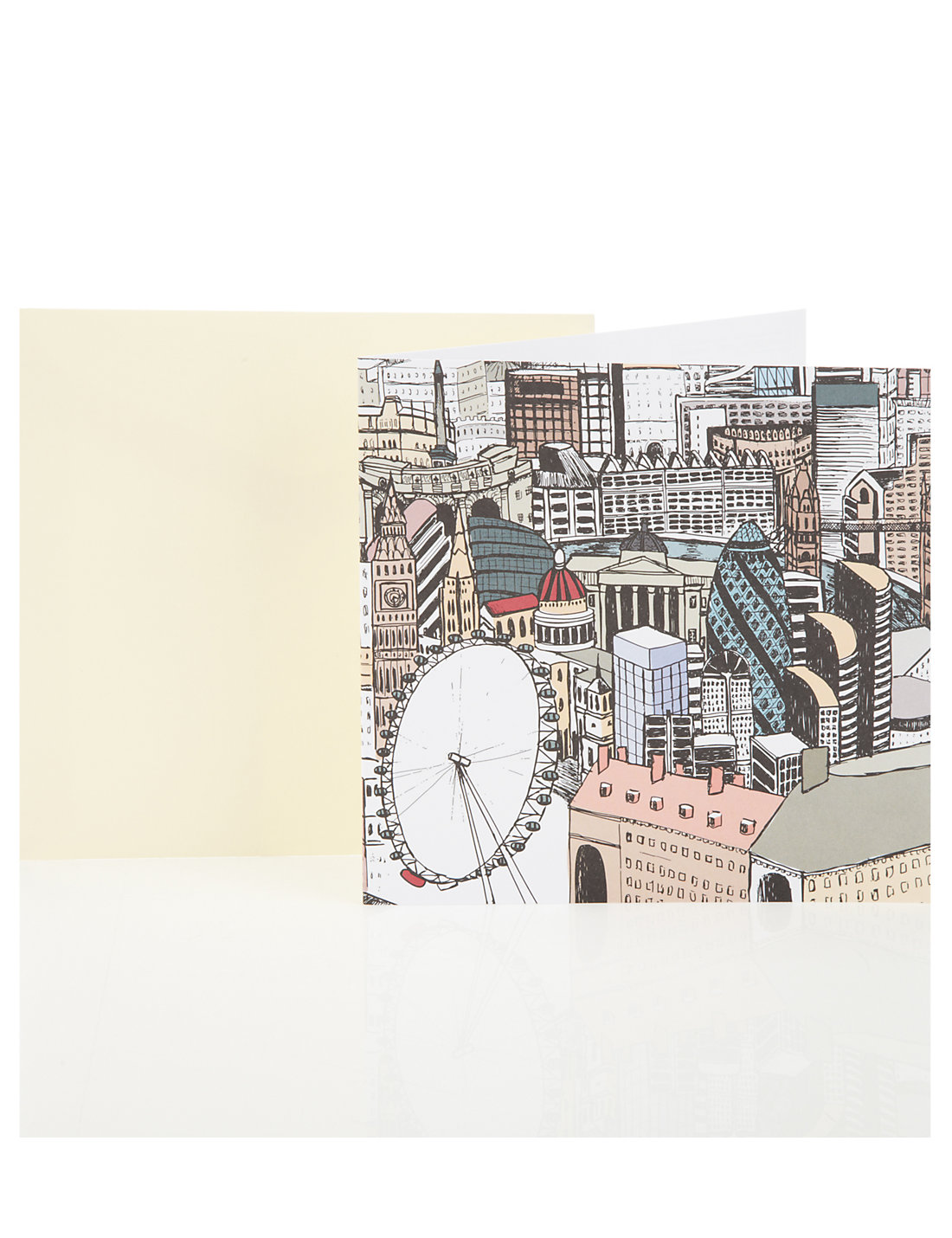 Graphic london blank greetings card ms graphic london blank greetings card kristyandbryce Image collections