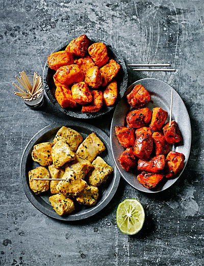 36 Indian-Style Chicken Kebabs Food