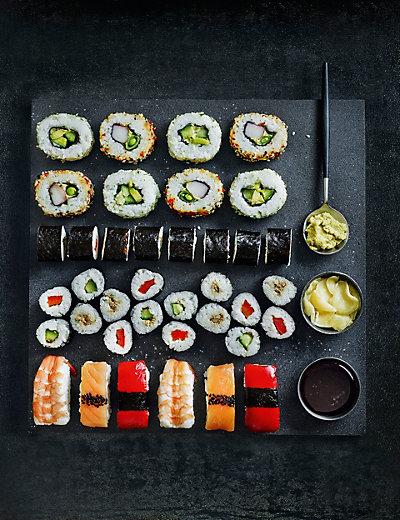 Marks & Spencer Sushi Platter
