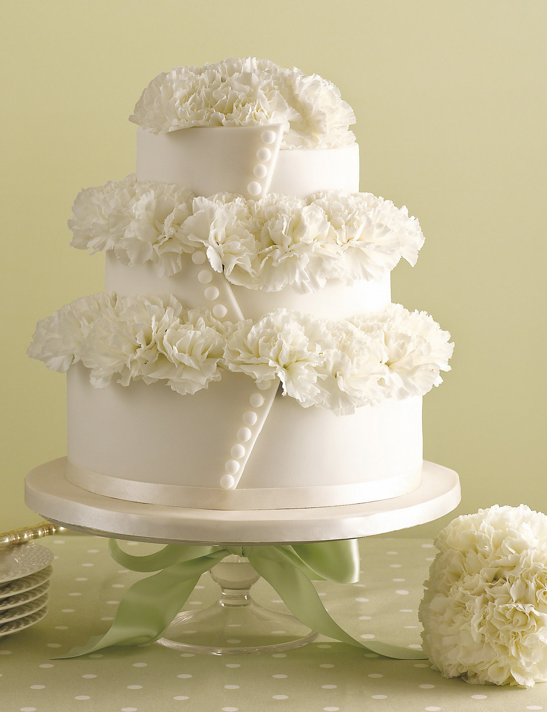 Button Chocolate Wedding Cake