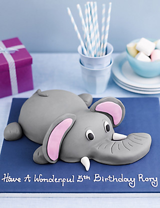 Edward the Elephant Cake Cakes
