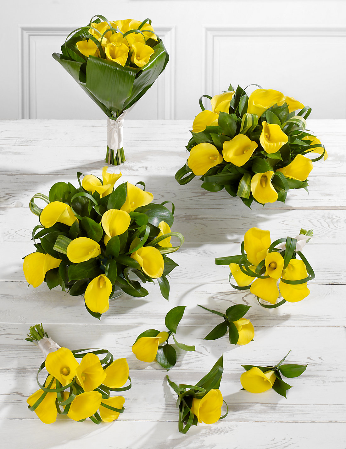 Yellow calla lily wedding flowers collection 3 ms yellow calla lily wedding flowers collection 3 dhlflorist Images
