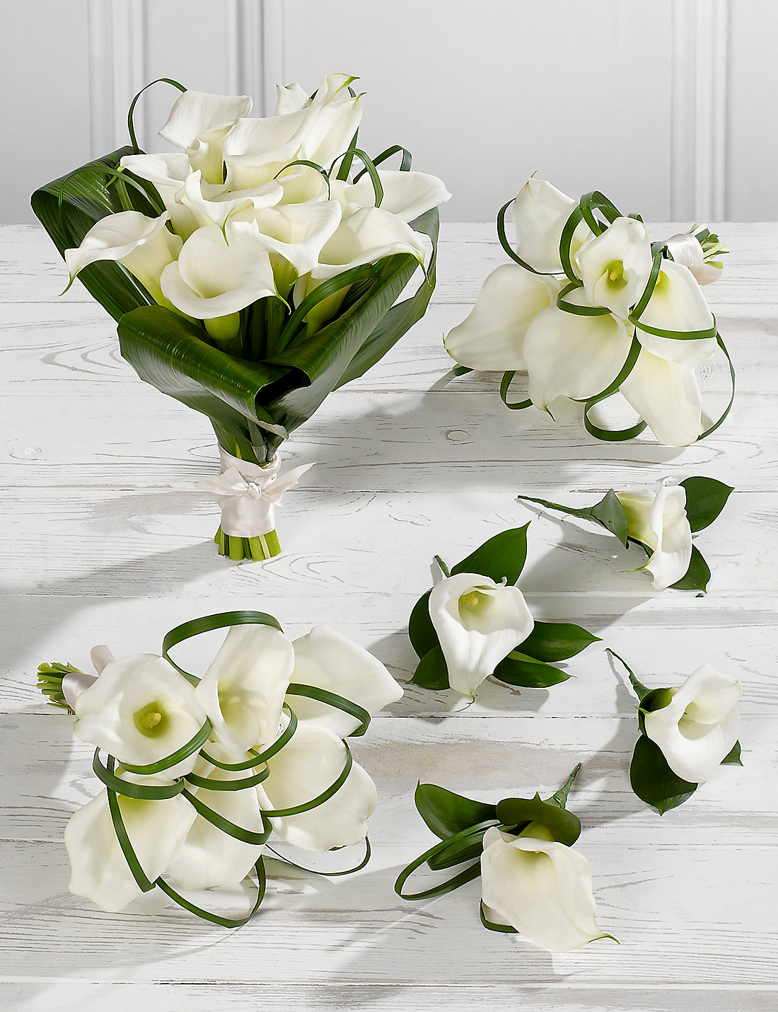 Wedding flowers  White Calla Lily Wedding Flowers - Collection 2 | M&S