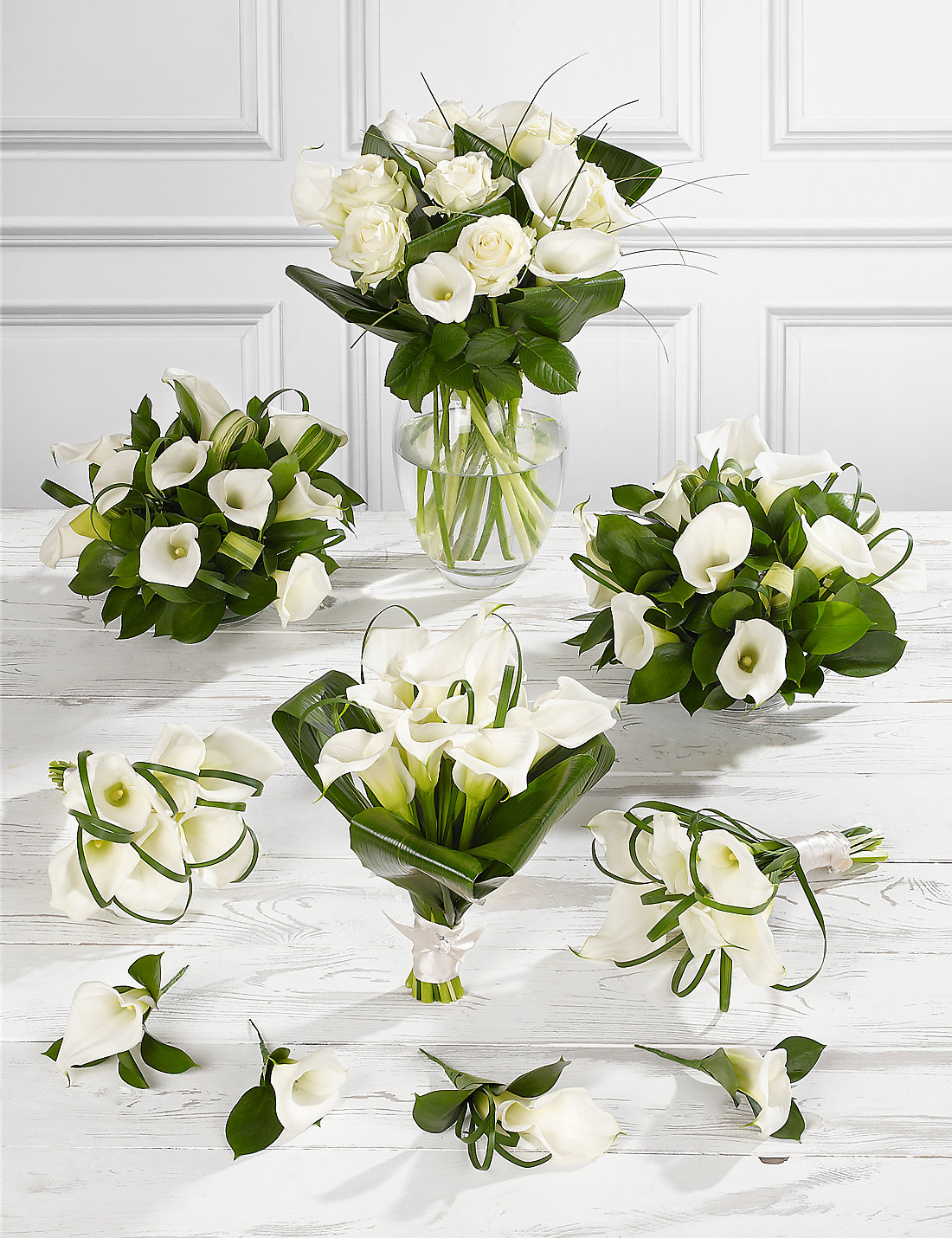 White calla lily wedding flowers collection 4 ms white calla lily wedding flowers collection 4 dhlflorist Choice Image