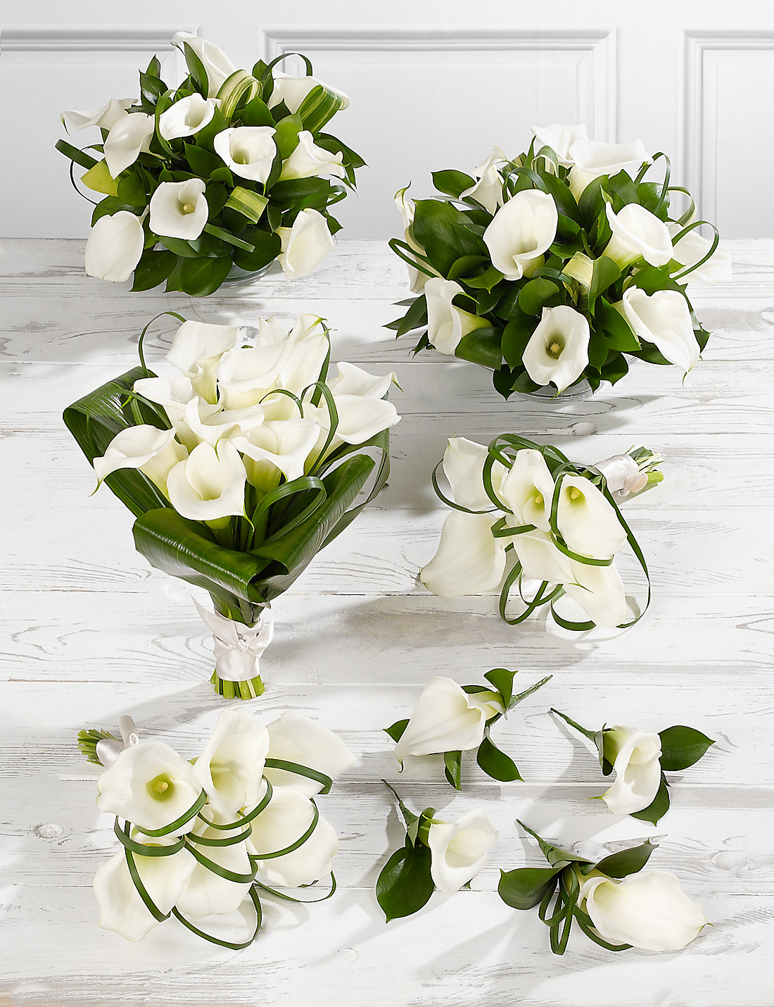 White calla lily wedding flowers collection 3 ms white calla lily wedding flowers collection 3 dhlflorist Choice Image