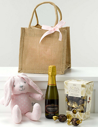 Baby Girl Celebration Gift Bag Hampers