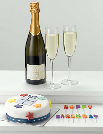Birthday Cake Candles Amp Prosecco M Amp S