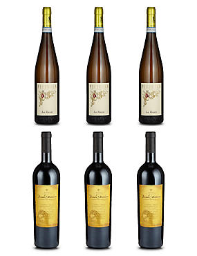 Italian Fine Wine - Case of 6