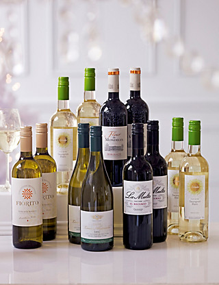 Festive Party Mix - Mixed Case of 12 Wine