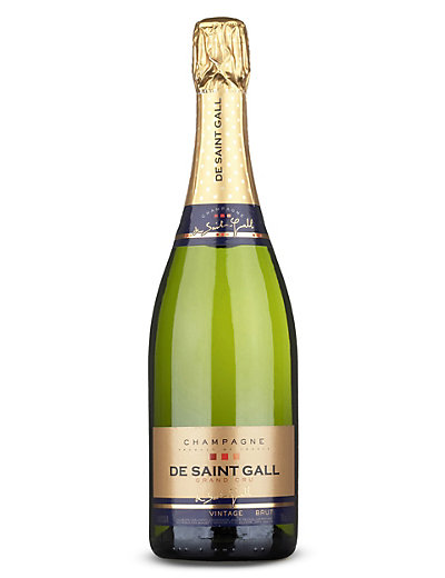 De Saint Gall Grand Cru Brut Vintage 2004 Champagne - Case of 6 Wine
