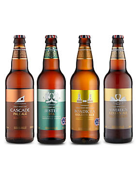 British Beers Made from British Single Hops - Case of 20