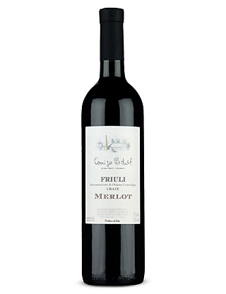 Friuli DOC Grave Merlot - Case of 6 Wine