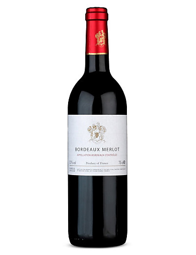Bordeaux Merlot - Case of 6 Wine