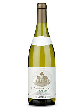 Les Domaines Brocard Organic Chablis - Case of 6