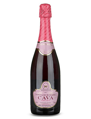 Vintage Rosado Cava - Case of 6 Wine