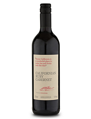 Californian Ruby Cabernet - Case of 6 Wine