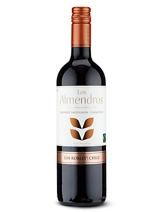 Los Almendros Fairtrade® Cabernet Carmenere - Case of 6 Wine