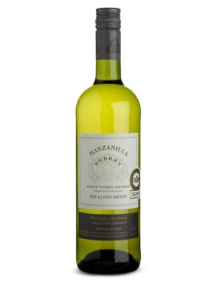 Marks & Spencer Manzanilla Extra Dry & Light