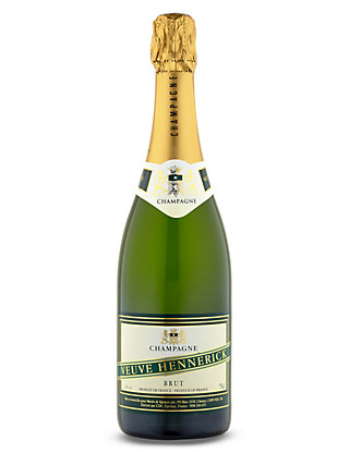 Veuve Hennerick Champagne Gift - Single Bottle Wine
