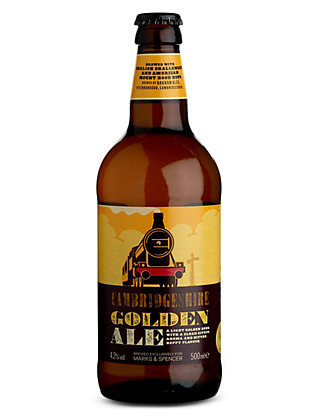 Cambridgeshire Golden Ale - Case of 20 Wine