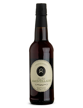 Dry Old Amontillado Sherry - Case of 6 Wine