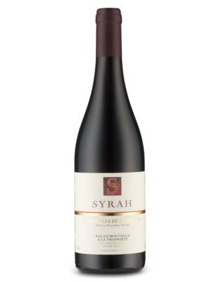 Marks & Spencer Syrah de l'Ardèche, France 2013