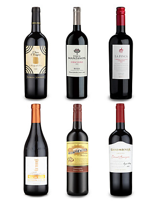 Wine Club Reserva Mixed Red - Case of 12 Wine