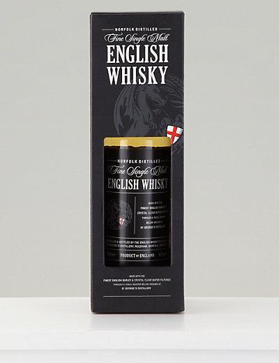 Fine Single Malt English Whisky Single Bottle M Amp S