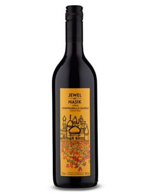 Jewel Of Nasik Tempranillo/Syrah 2013