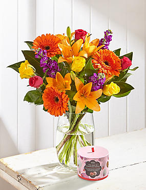 Free Chocolates with Mother's Day Bright's Bouquet (Pre Order)
