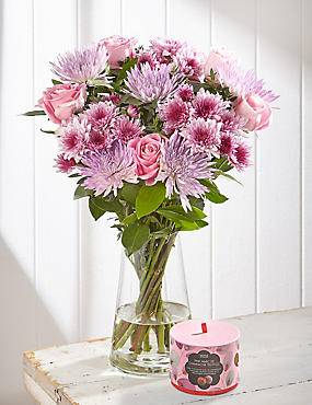 Free Chocolates with Marvellous Mum Flower Bouquet (Pre-Order)