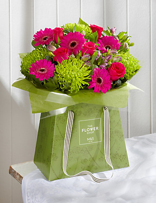 Summer Brights Gift Bag Large Flowers