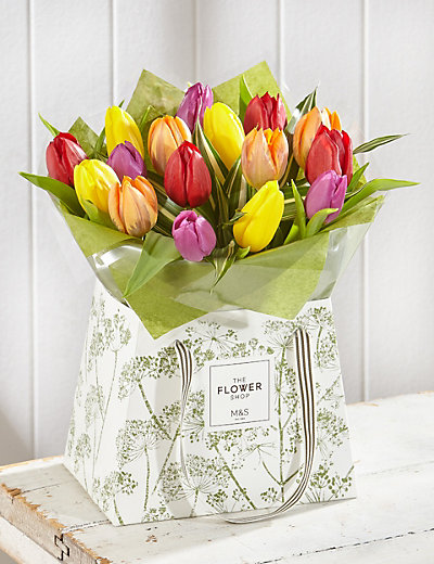 Tulip Gift Bag Flowers