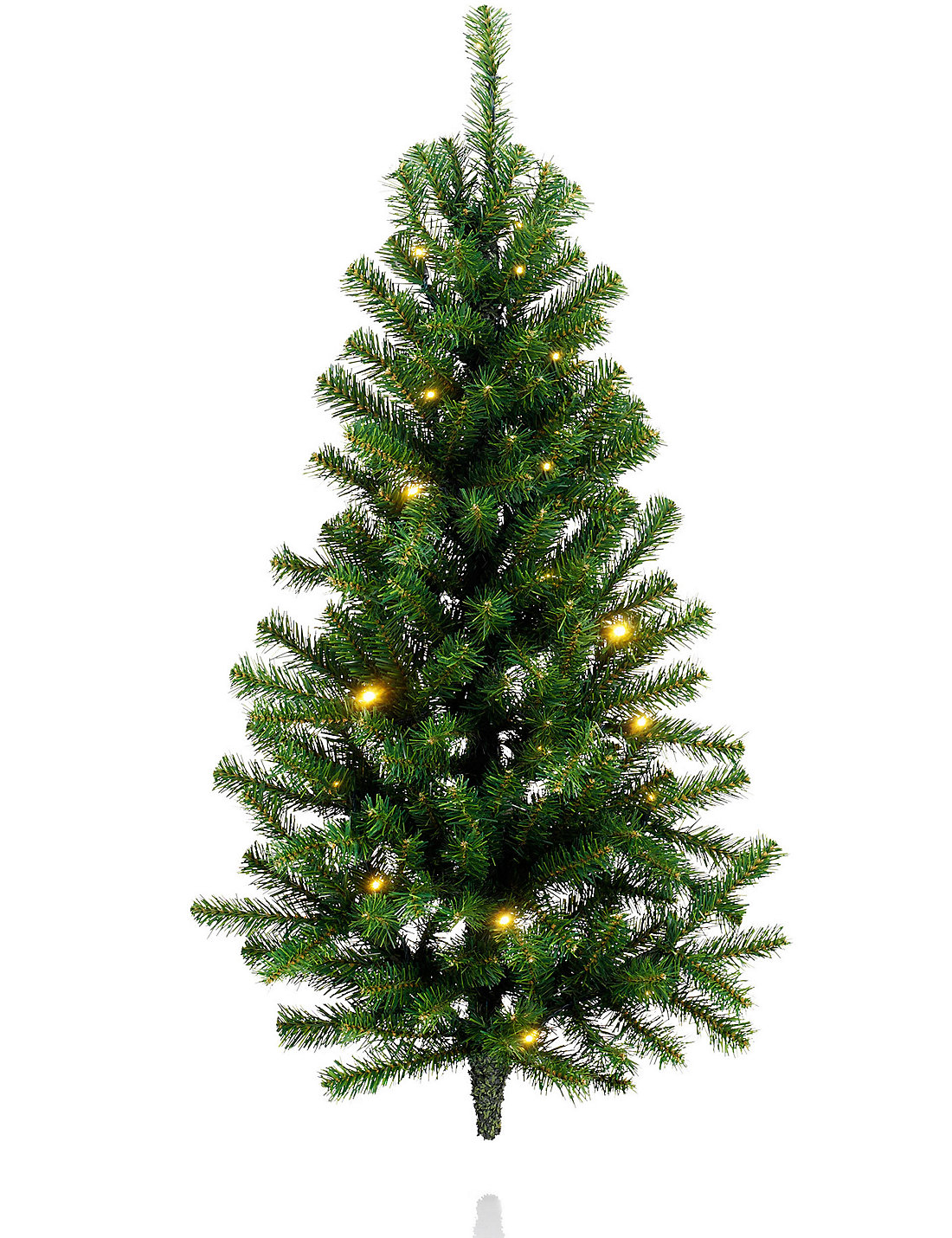 3ft pre lit wall mounted tree - Wall Mounted Christmas Tree