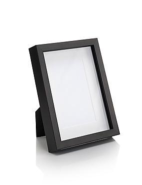 4x6 Solid Wood Photo Frame, BLACK, catlanding