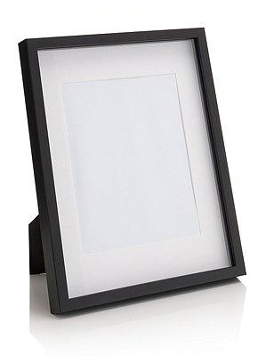 Essential Photo Frame 20 x 25cm (8 x 10''), BLACK, catlanding