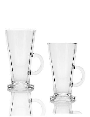 Set of 2 Latte Footed Mugs, , catlanding