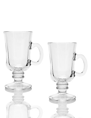 Set of 2 Irish Coffee Mugs, , catlanding