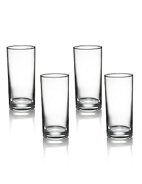 4 Andante Hi Ball Glasses, , catlanding