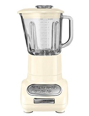 KitchenAid 1.5 L Artisan® Blender, CREAM, catlanding