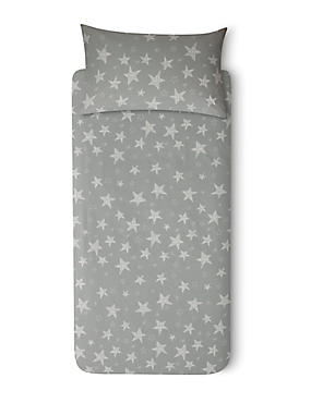 Giant Star Bedset, GREY MIX, catlanding