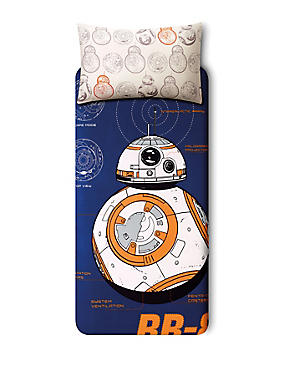 Star Wars™ BB-8™ Bedset, BLUE MIX, catlanding