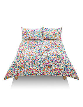 Otomi Print Bedding Set, MULTI/BRIGHTS, catlanding