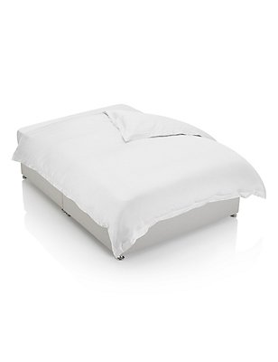 750 Thread Count Luxury Supima® Cotton Sateen Duvet Cover, WHITE, catlanding