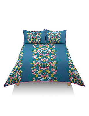 Frida Floral Print Bedding Set, MULTI/BRIGHTS, catlanding