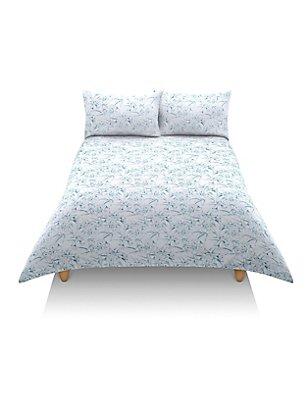 Tamsin Floral Print Bedset, BLUE MIX, catlanding