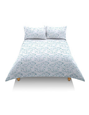 Tamsin Floral Print Bedding Set, BLUE MIX, catlanding
